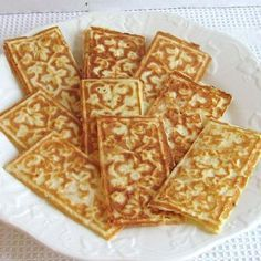 Polish Cookies as Thin as Wafers: Wafer Cookies - Polish Wafle