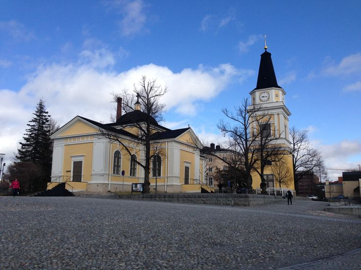 Another church in Tampere, Finland.  #Tampere #Finland #Church