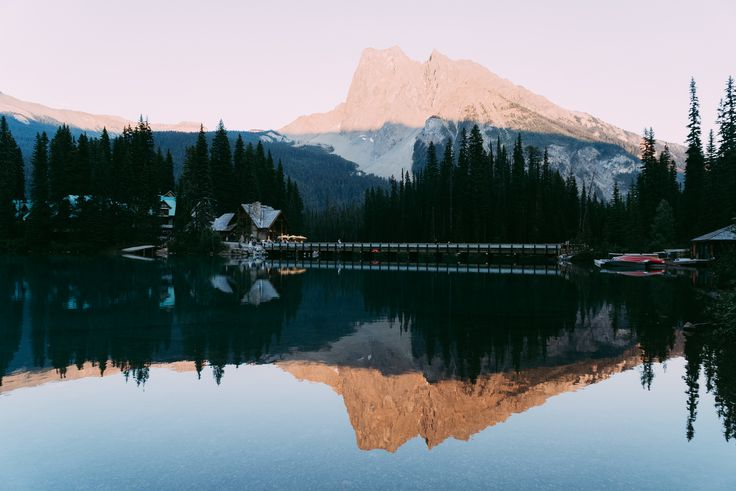 Emerald Lake Lodge is located in the beautiful Yoho National Park. Emerald Lake is a short drive from Banff and Lake Louise, perfect for weddings!! You can rent the entire Island. Sage & Heart Wedding Photography