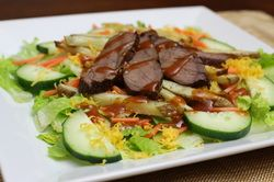 This Pittsburgh-Style Steak Salad is my take on a hometown favorite (and yes, there are French fries on it).