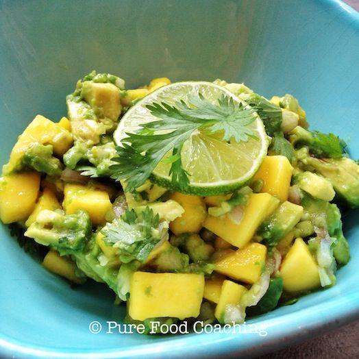 Mango avocado salade
