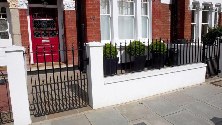 white brickwork front garden - Google Search