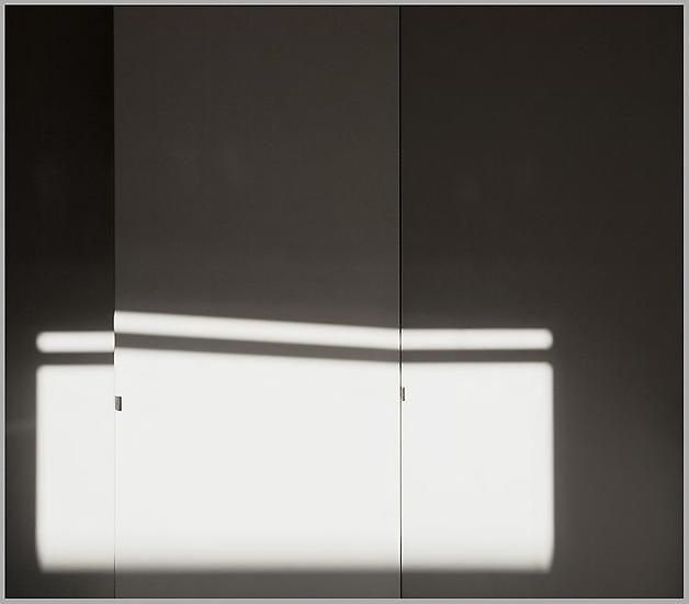 etceterablog:  Uta Barth Compositions of Light on White (Composition #12), 2011 inkjet print in artist's frame 19 1/8 x 21 3/4 inches; 48.6 x 55.2 cm