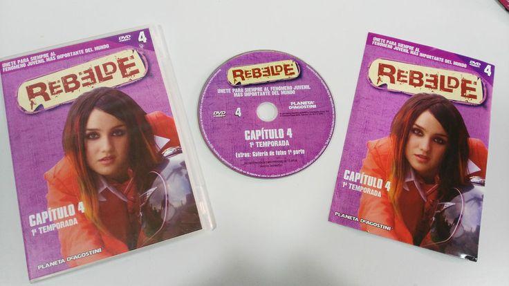 RBD - REBELDE TEMPORADA 1 CAPITULO 4 + EXTRAS DVD SPANISH EDITION UNICO EBAY!!!