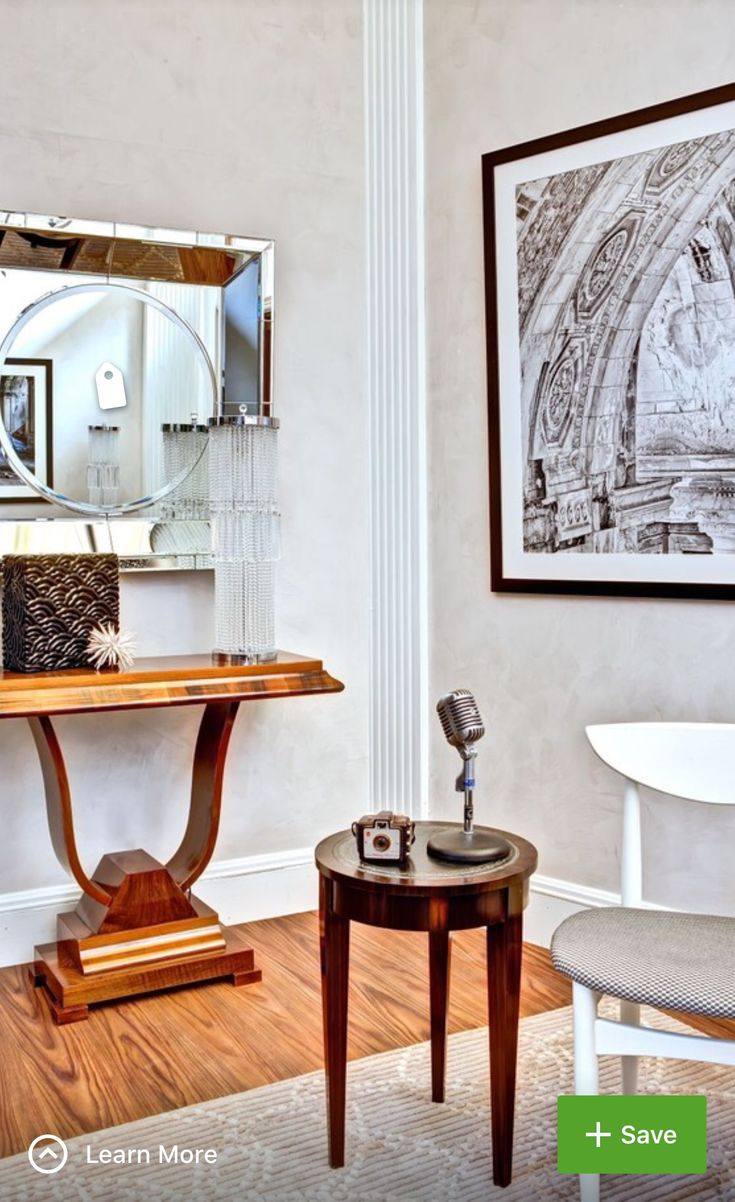 45 best Art Deco Moderne images on Pinterest   Living room, Homes ...