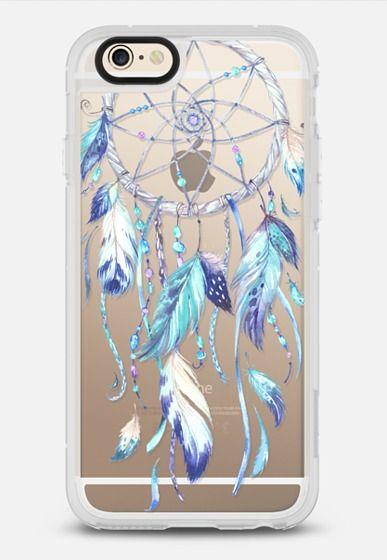Watercolor Blue Dreamcatcher Feather Dream Catcher iPhone 6 case by Ruby Ridge Studios | Casetify