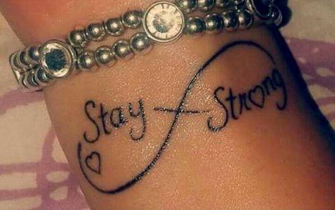 Little wrist tattoo of the infinity symbol saying... - Little ...