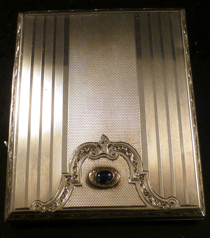 58 best Silver Cigarette Cases, Snuff Boxes & Card Cases images on ...