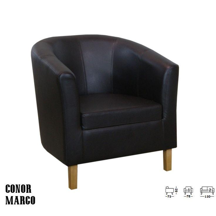 Conor fotel:      Modern formatervezésű fotel, klasszikus falábakkal     Helyezze magát kényelembe és adja át magát a Conor kanapé nyújtotta élménynek!     Párnázata igazán kényelmes, kartámaszai igazán praktikusak     Kényelmes, kifinomult, lekerekített formákkal     Nappalija kiváló kiegészítője lehet!     Tökéletes vendéglátó helyiségekbe és akár egy váratlan vendég hellyel kínálásához is.