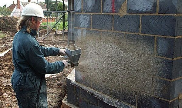 Painting pebbledash and Tyrolean masonry walls | Never Paint Again UK