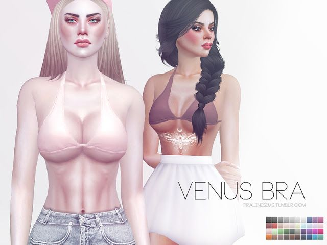 Sims 4 CC's - The Best: Venus Bra by Pralinesims