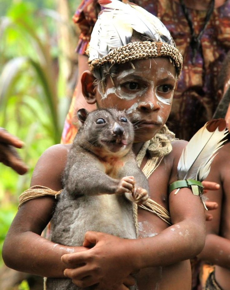 That papua new guinea man eats baby think, that