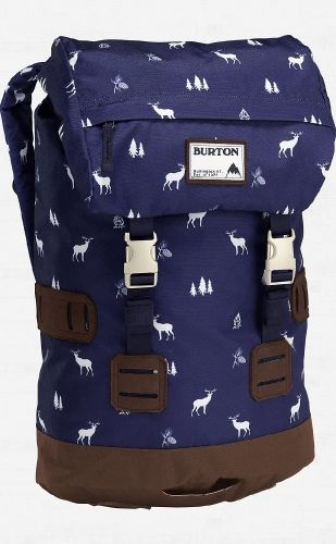 Digging a bit deeper, this everyday pack features a separate padded laptop compartment and an easy drawstring closure that speeds the task of packing up at work, class, or the coffee shop. Faux suede detailing and dressed up fabrics display a scholarly appearance over the standard, stock backpack.