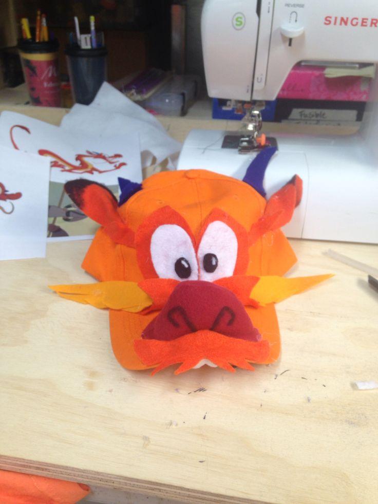 Mushu Mulan Jr. Made from felt pieces. mushu costume