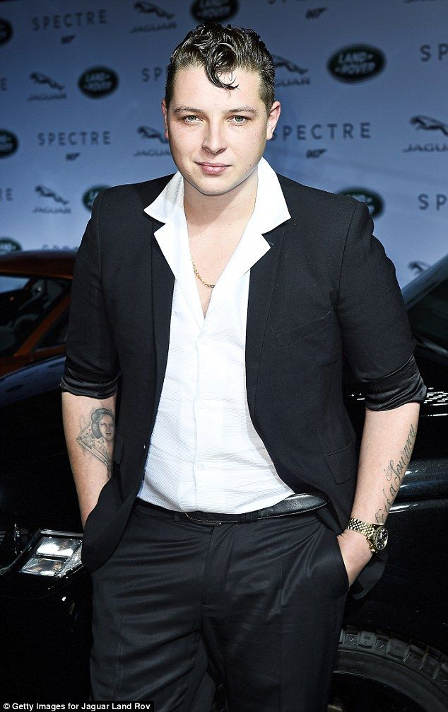 Staying positive: Musician John Newman has reportedly been struck by a second brain tumour