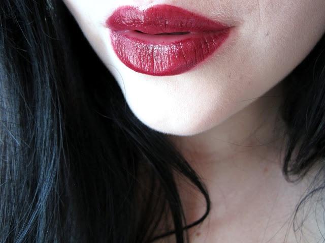 Eating Lipstick: Revlon Black Cherry Super Lustrous Lipstick