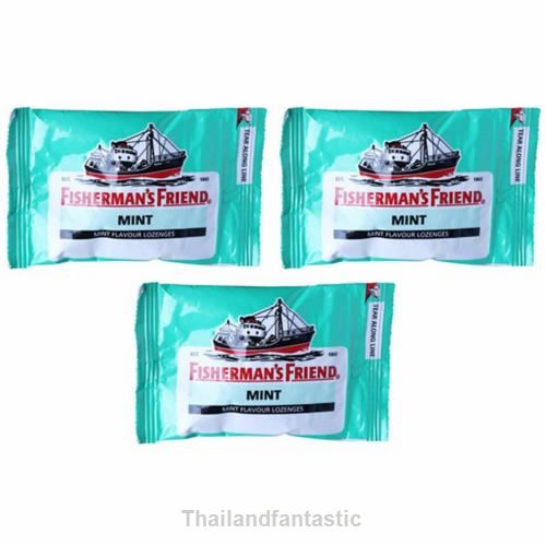 3-24x25g Fisherman's Friend Candy MINT Flavor Lozenges Free Shipping  Price:US $9.99  http://www.ebay.com/itm/162128950563  #ebay #Thailandfantastic #Paypal #Home #Garden #Food #Beverages #Candy #Gum #SugarFree #FishermanFriend #MINT #Flavor #Lozenges
