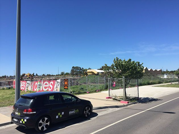 A new Coles Express Service station at the Aurora development in Epping will soon start sprouting from this patch of bare ground. Switch are proud to be provid
