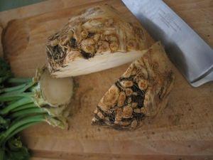 Shepherds pie with mashed celeraic