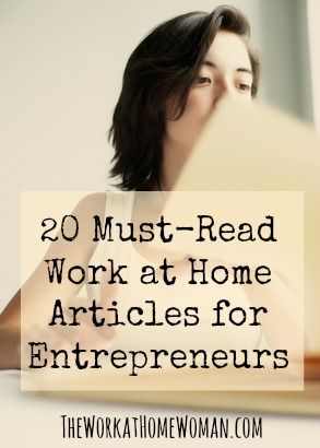 With women starting new businesses at twice the rate of men, I thought it would be beneficial to compile a post where women could find the best how to articles, tips and strategies for working at home as an entrepreneur.