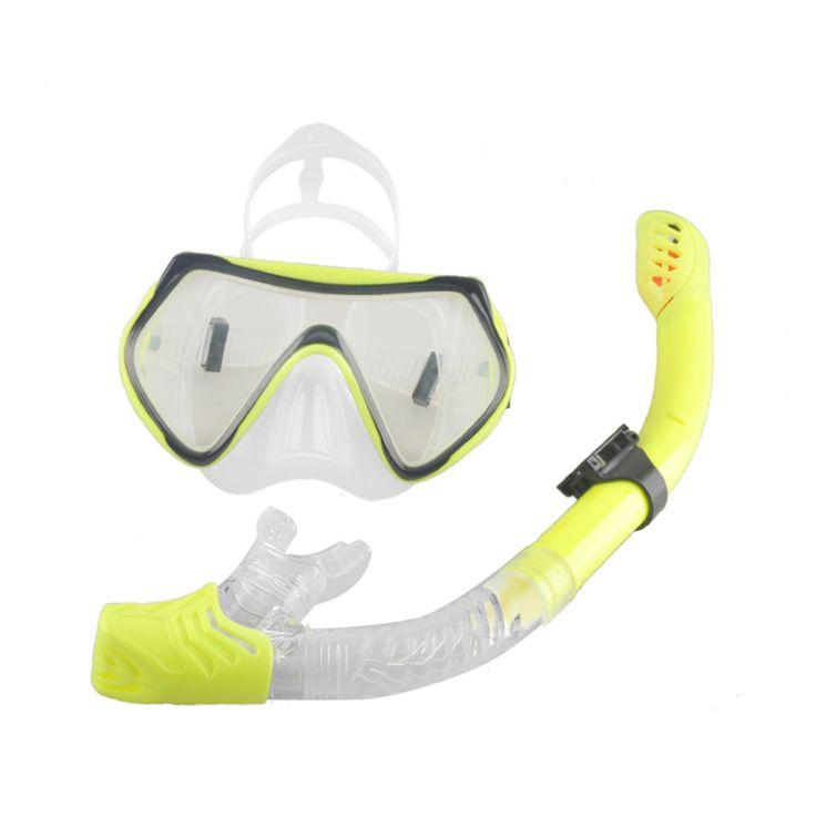 e201b9ca7b7 New Scuba Diving Mask Snorkel Anti-Fog Goggles Glasses Set Silicone Swimming  Fishing Pool Equipment