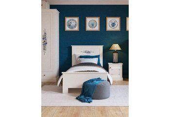 Komfortbett ab 219,99€. Zeitloses Bett mit Komforthöhe, Mit oder ohne Schubkasten, Seitenteilhöhe 48 cm, Einlasstiefe von 15-21 cm verstellbar bei OTTO