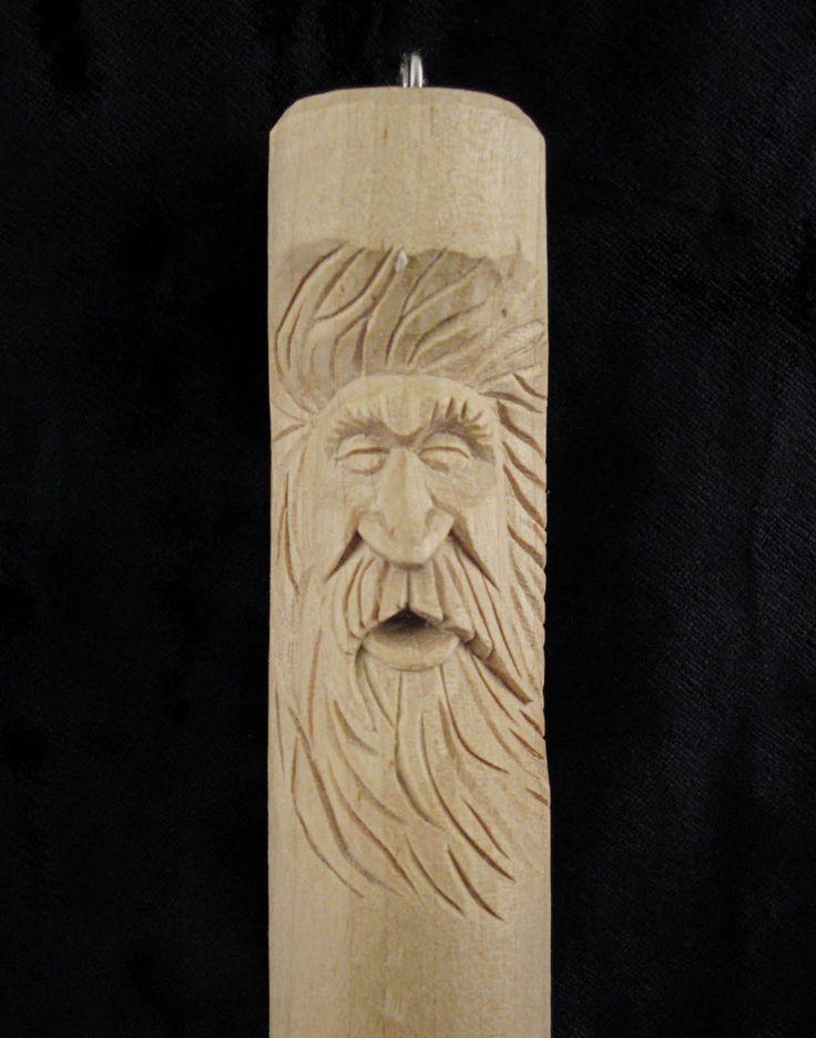 Free wood spirit patterns flying chips carving