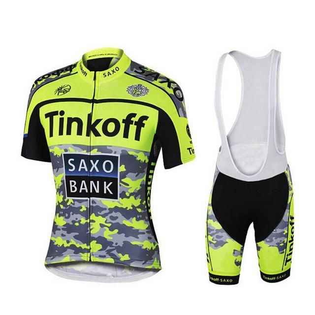 2016 Saxo Bank Tinkoff Cycling Clothing/Cycle Clothes Wear Ropa Ciclismo Cycling Sportswear/Racing Bike Clothes Cycling Jersey
