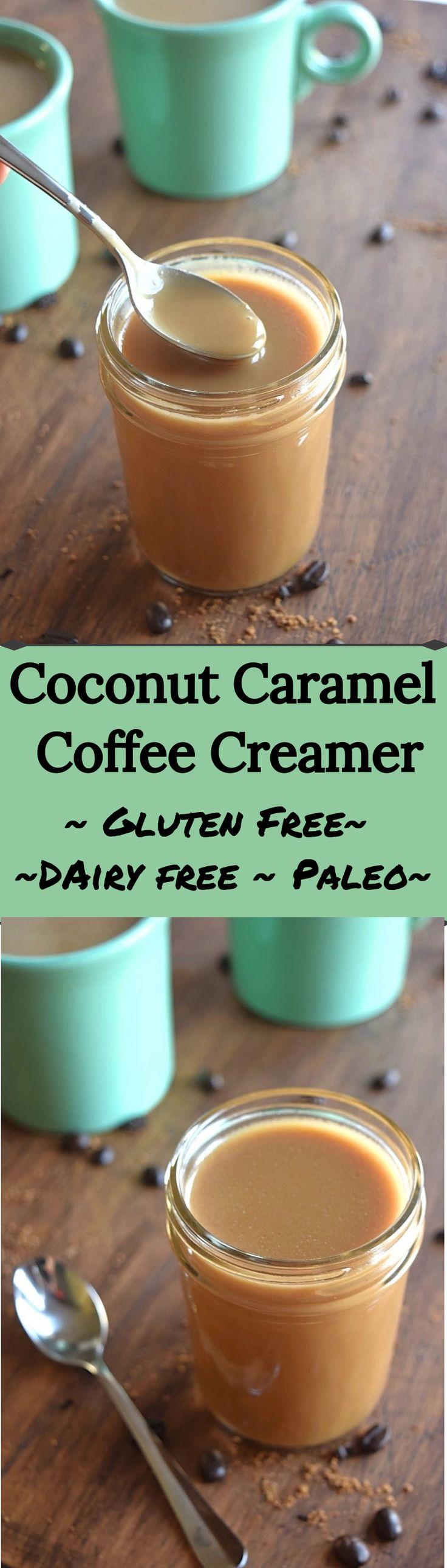 Coconut Caramel Coffee Creamer – A Stray Kitchen