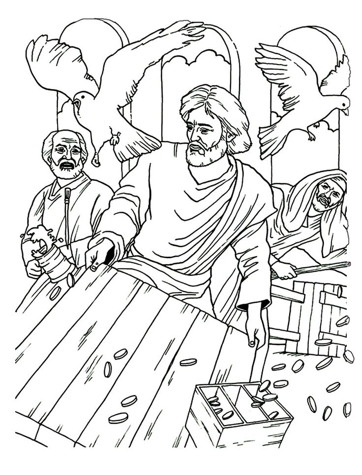 christian family coloring pages - photo#19
