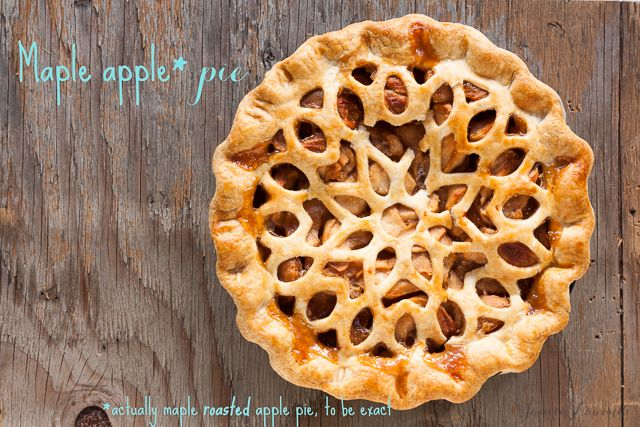 maple apple pie with roasted apples   Janice Lawandi @ kitchen heals soul