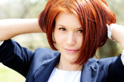 Color Treated Hair Tip: Use a temporary color rinse to extend the life of your color between each permanent application.