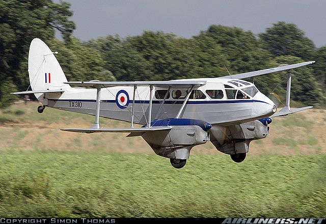 De Havilland DH-89A Dominie aircraft picture