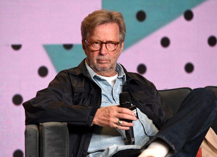 Eric Clapton Whitesplains His Racism. He Even Had a Black Girlfriend