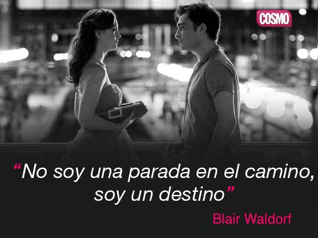 Frase de Blair de Gossip Girl