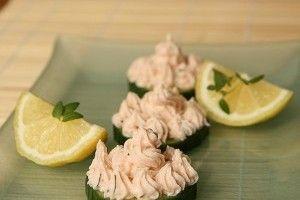 Crema de somon cu branza - Culinar.ro