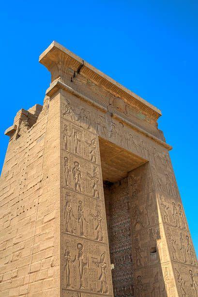 Gateway of Euergetes II, Karnak Temple, Luxor