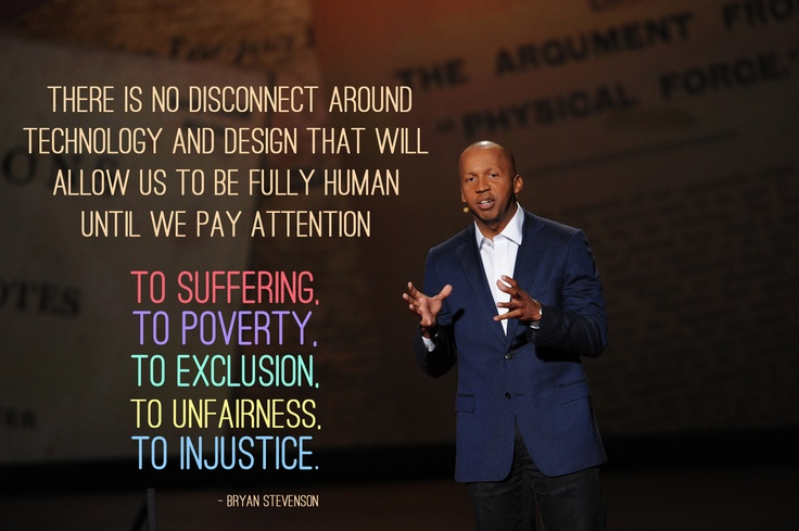 Bryan Stevenson on injustice at TED2012. Powerful.  Photo by James Duncan Davidson.