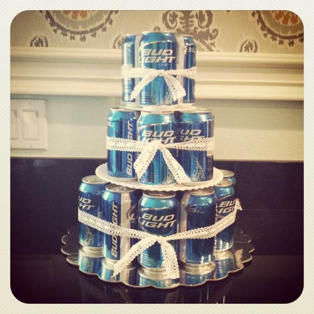 bud light beer birthday cake for the hubs  Mothers Love Free Information on how to (Make Money Online)  http://ibourl.com/1nss