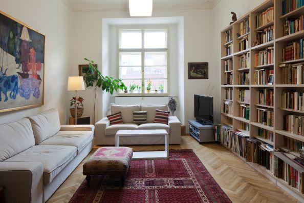Este apartamento en el centro histórico de #Praga puede ser el campamento base ideal para descubrir la ciudad andando.