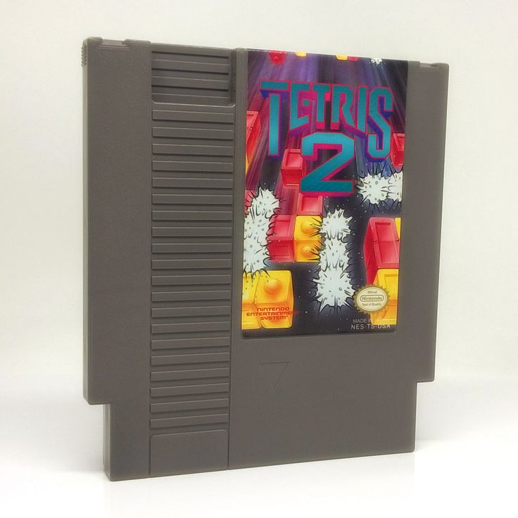 Tetris 2 NES Nintendo game, includes cartridge and dust sleeve only. Cleaned, tested and comes with a FREE cart protector! The mesmerizing fun of Tetris returns - and the challenge escalates to new he