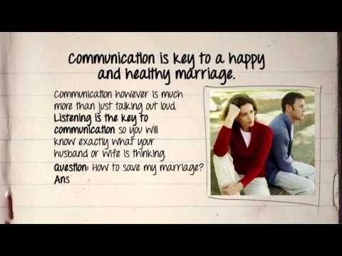 """Marriages are challenging, but they can also be one of the most rewarding things in life. When people say to me, """"Please, tell me how to save my marriage."""", here are some of my top tips. If you're having marriage troubles visit - http://blog.savemarriagecentral.com/ for advice, support, and empathy."""