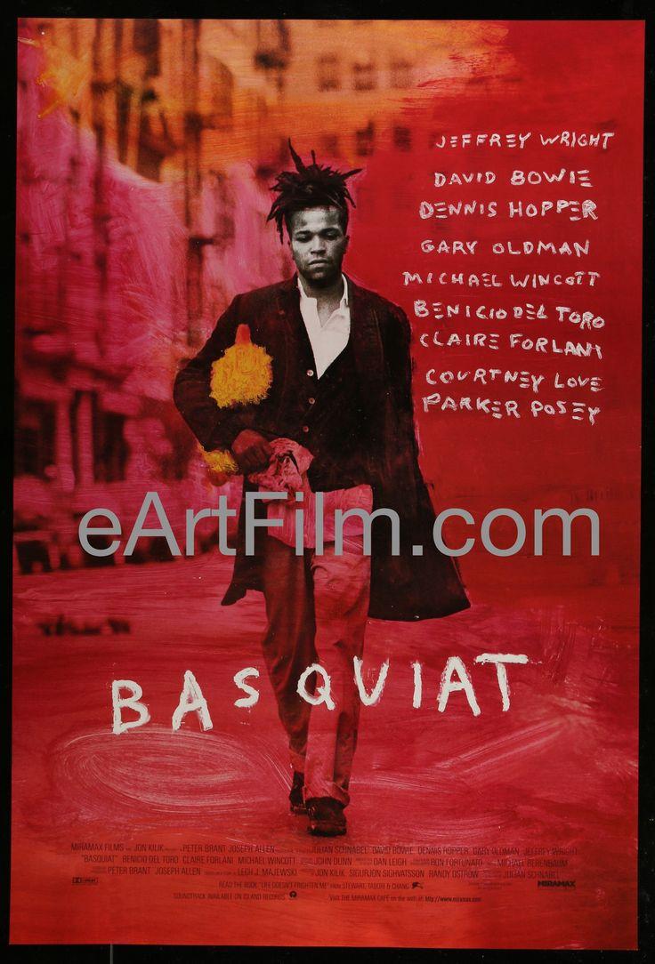 Basquiat-Jeffrey Wright-David Bowie-Gary Oldman-Courtney Love-1997-27x40