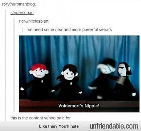 Harry Potter puppet pals!!