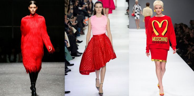 The Colors of FW14 – 10 Ways to Kick Out Black, Grey and Beige #brightred #red #thedailydagny