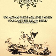 bambi quotes - Google Search