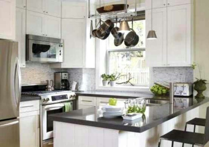 17 best images about small kitchen designs on pinterest for Cute small kitchen ideas
