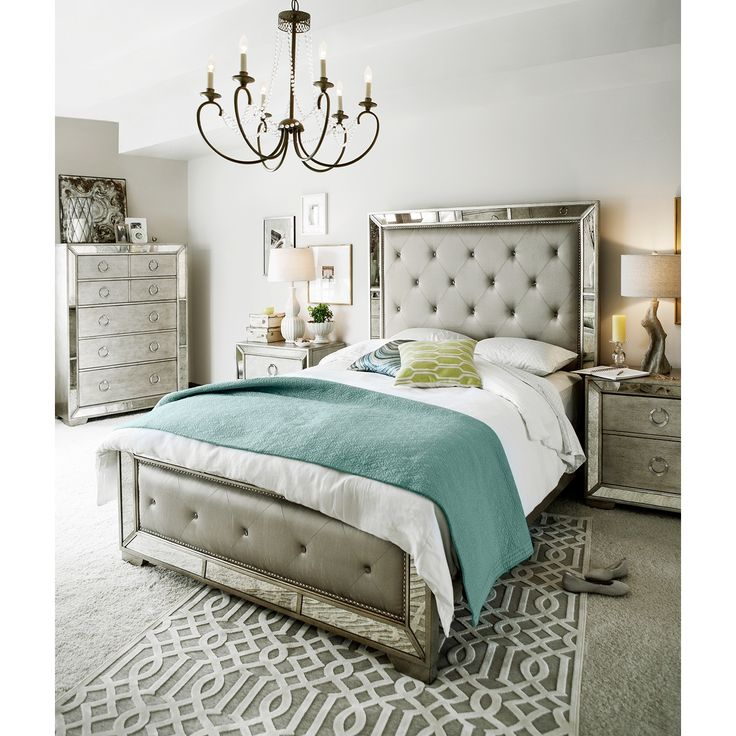 1000 ideas about queen bedroom on pinterest makeup rooms vanity area and makeup shelves for Angelina bedroom furniture set
