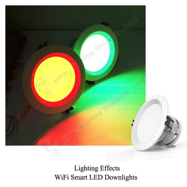 RGBW Wifi LED Downlights 7.5W -lighting-effects - 3 More details at >>> http://www.lightingshopping.com/rgbw-wifi-led-downlights-7-5w.html
