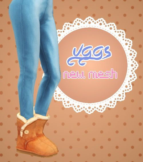 Sulsul Sims: Ugg Boots • Sims 4 Downloads